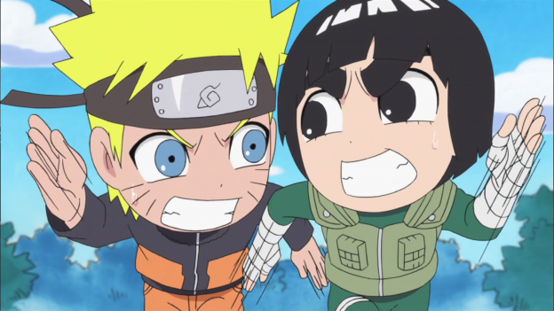 Naruto Rock Lee Spin Off